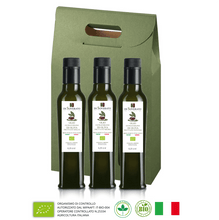 Upload the image to gallery viewer, Tasting 3 Bottles Organic Transvergine Oil - Fruity Line