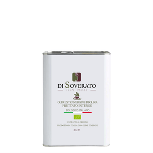 Intense Fruity Organic Extra Virgin Olive Oil in Tin