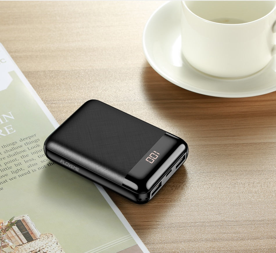 Premium 10000 mAh Portable Power Bank (Battery Pack)