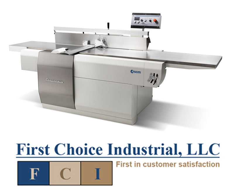 "20"" Long Bed Programmable Jointer - SCM L'Invincibile F7 (T) w/Xylent Head"