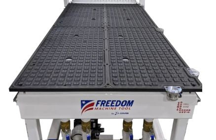 3 Axis - CNC Router - DMS Freedom Patriot4' x 8' Phenolic Worktable