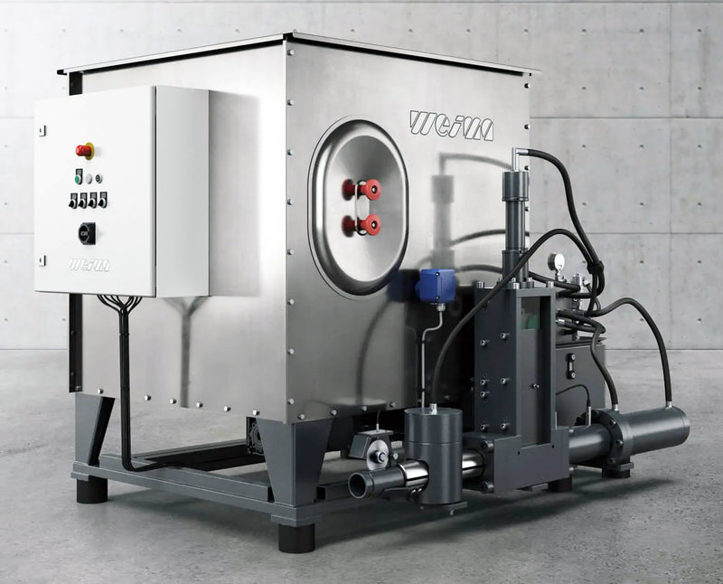 Briquetting Machines - Weima C-Series - First Choice Industrial
