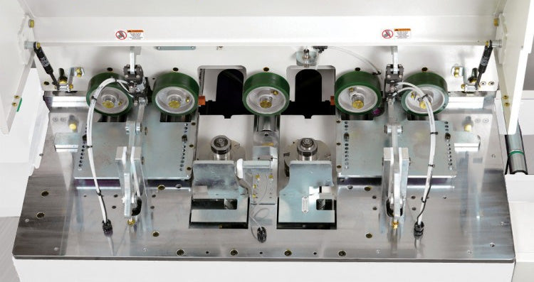 Cantek EM-12 - AutoThroughfeed End-Matcher - First Choice Industrial - Detail 8