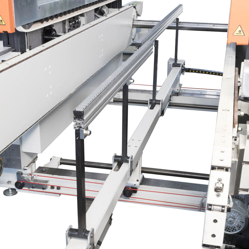Celaschi P40 - Double-End Tenoner - Workpiece Feed Speed up to 48 m-min