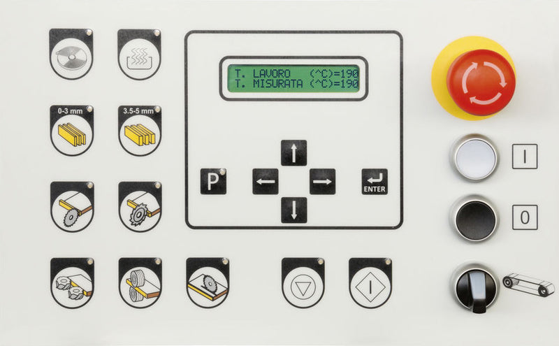Control Panel - ME 20 SCM MiniMax  Edgebander - First Choice Industrial.