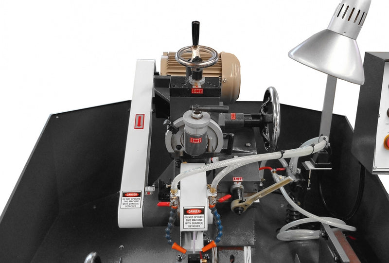 Convenient wheel angle adjustment (side clearance). Motorized setting optional - Cantek JF330A