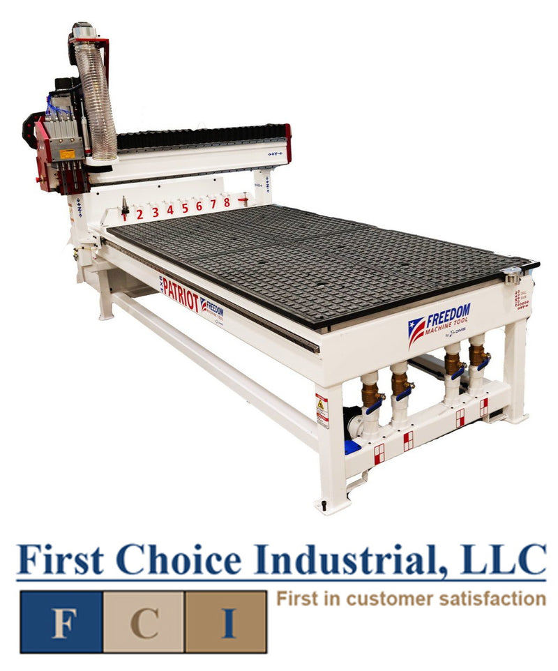 DMS Freedom Patriot - 4 x 8 - 3 Axis - CNC Router - First Choice Industrial