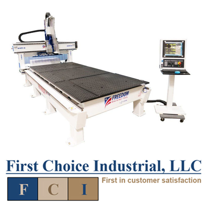 DMS Freedom Patriot - CNC Router - 5  x 12 - 3 Axis- First Choice Industrial