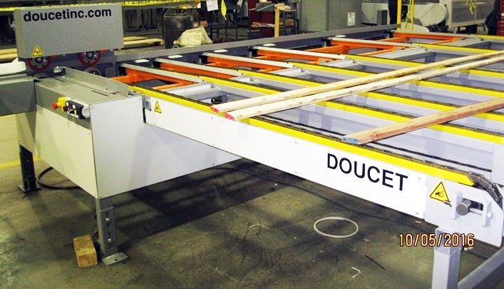 Doucet MFE-300 - Lateral Chain Feeder
