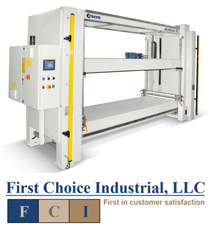 SCM Action P - Automatic Case Clamp - First Choice Industrial