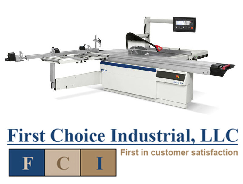 SCM Class Si X - Programmable Sliding Table Saw