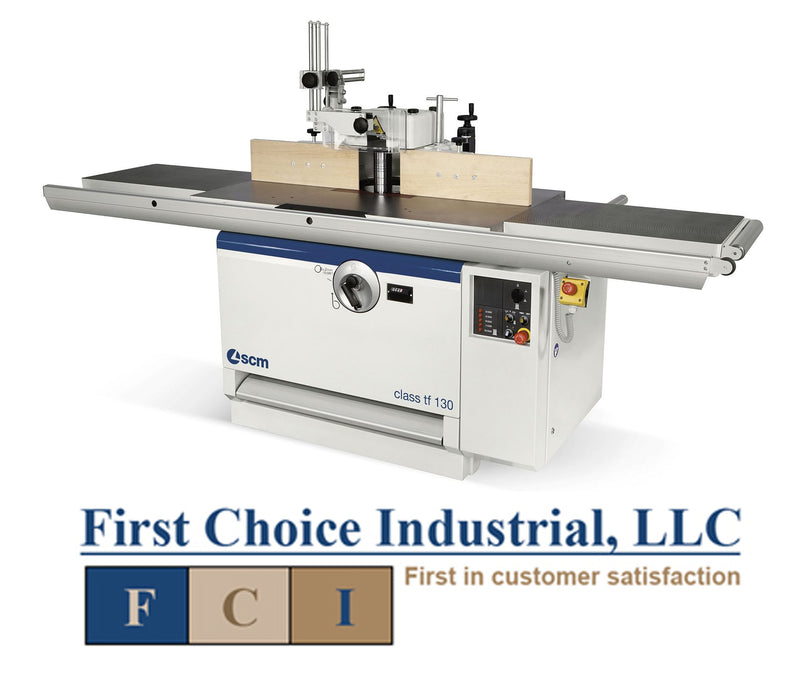 SCM Class TF130 - Fixed Spindle Shaper - First Choice Industrial