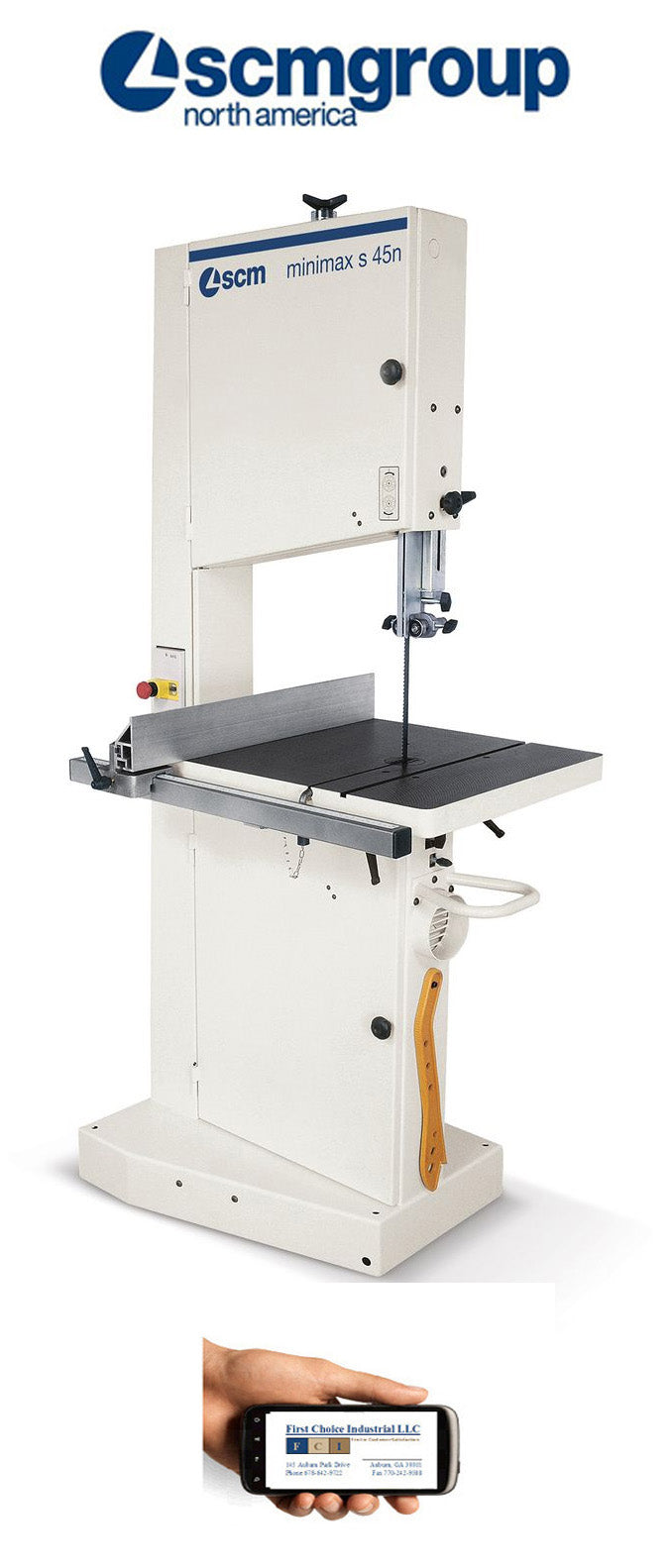 SCM Minimax S45N-Bandsaw - First Choice Industrial