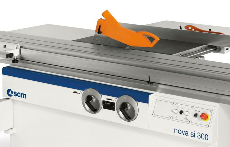 SCM Nova SI 300 S 5.- 5.5 Ft Sliding Table Saw - Patented Dust Solution