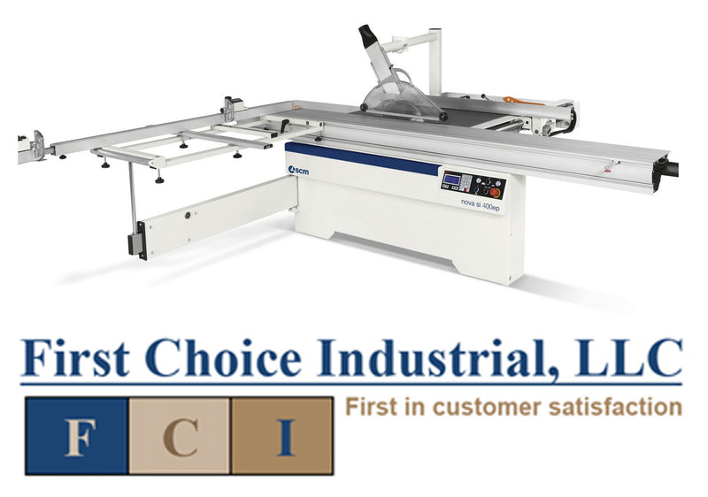 SCM Nova SI 400 EP Sliding Table Saw - First Choice Industrial