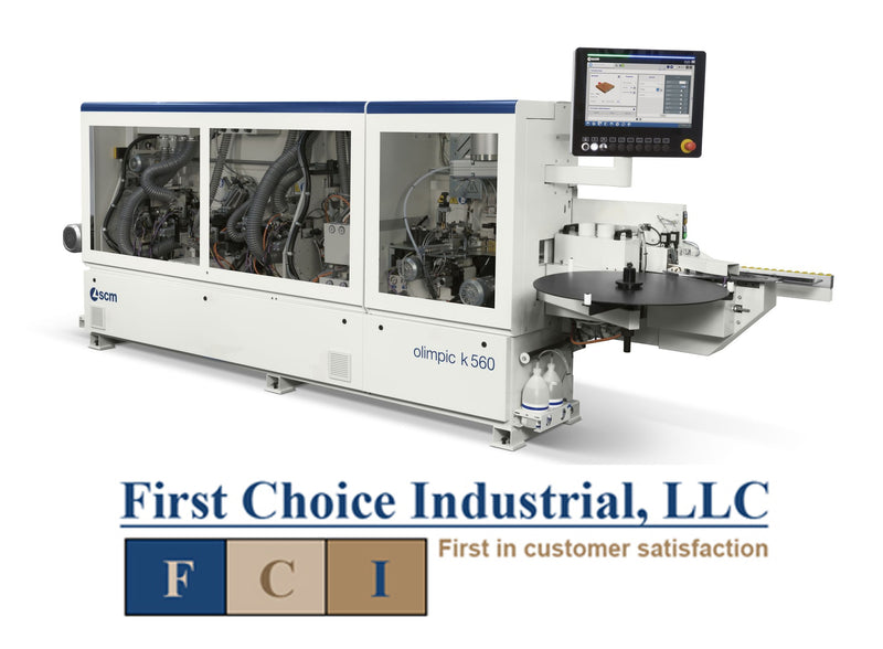 3 Ph - Pre-Mill Edgebander w/Corner Rounding - End, Top & Bottom Trim - Profile/Glue Scrape & Buff - SCM Olimpic EVO 560TE