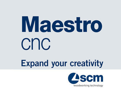 SCM Startrek CN-P - CNC Controlled - Drilling and Grooving - 32mm Machining Center - Maestro Integrated Software