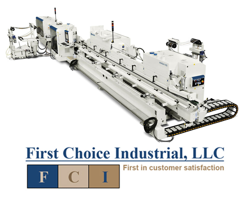Stefani 60 Evolution Squaring Edgebanders - Fiarst Choice Industrial Edgebanding Systems and Consultation