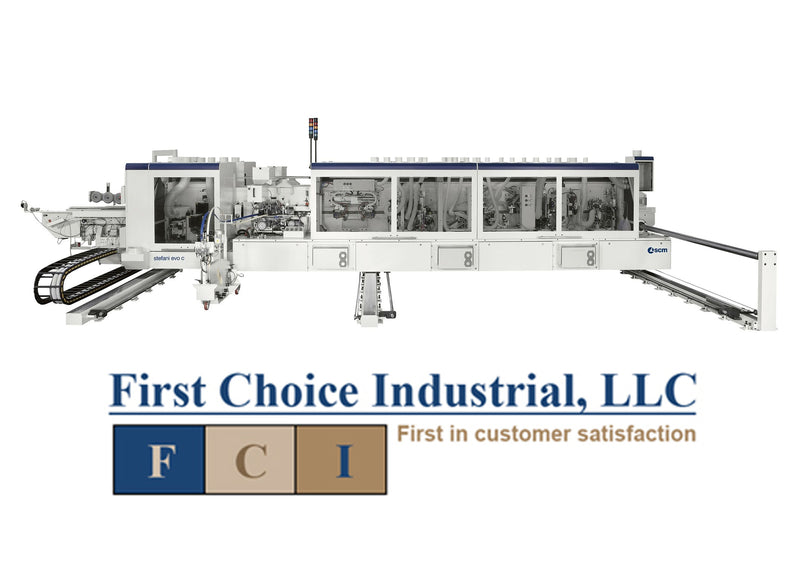 Stefani EVO C Edgebanding System - First Choice Industrial Edgebanding Services and Sales