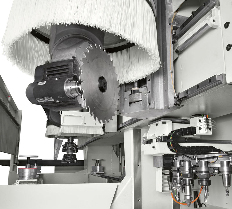 accord 42 fx - Combined machining head with 3 and 5 independent axes