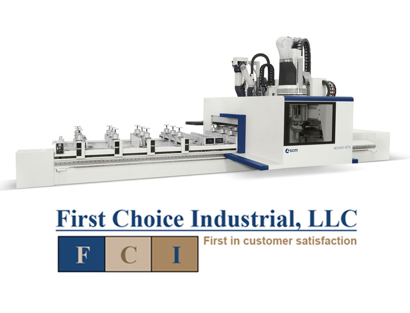 Pod & Rail - CNC Machining Center for Routing/Drilling - Accord 42 FX