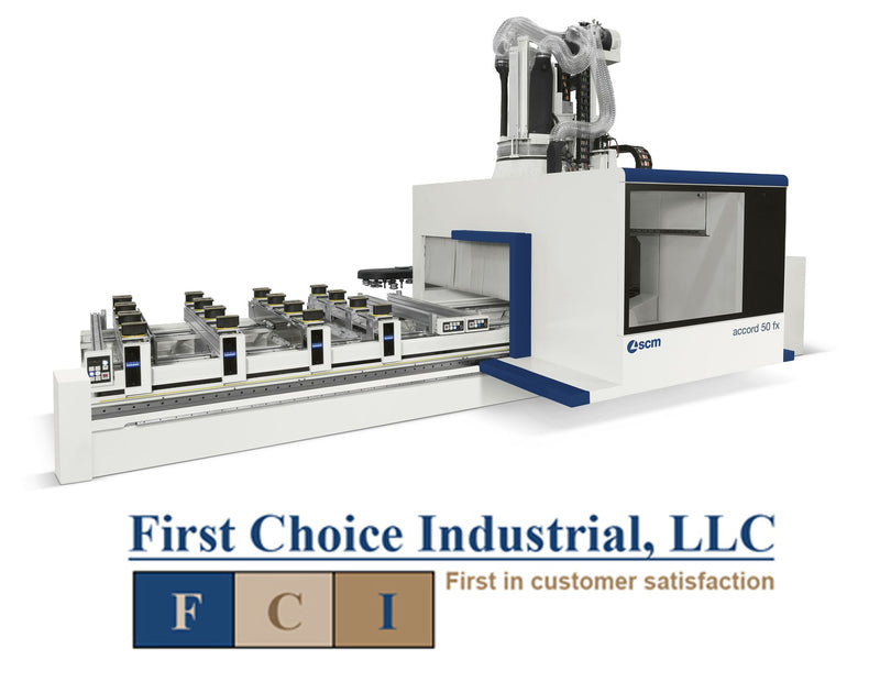 Pod & Rail - CNC Machining Center for Routing/Drilling - Routech Accord 50 FX