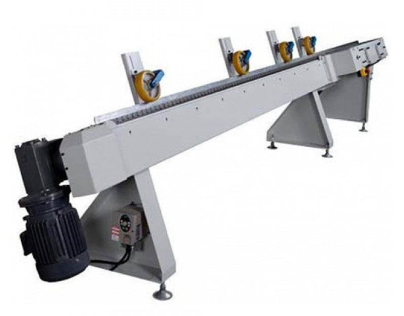 Cantek Automatic Optimizing Defect Cut-Off Optimizing Saw - Model CFS-100 - Detail 5