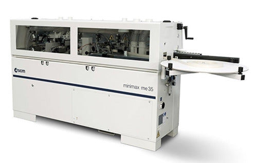 SCM Minimax High Frequency Edgebander with Pre-Milling Function - Model ME 35 T