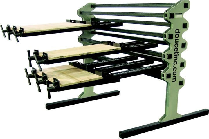 Doucet NWR-8 Clamp Rack for Wood Panel Assembly
