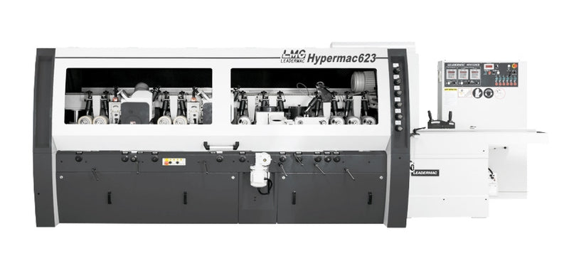 Leadermac Hypermac Moulder Series - Configured with 1 - 11 Heads