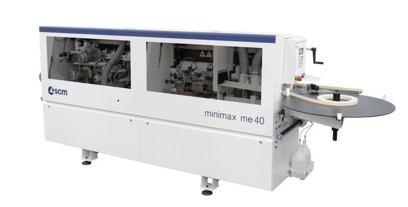 Minimax ME40TR3 Interchangable Glue Pot Edgebander.