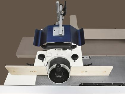 Minimax TW 45C - 4-Speed Spindle Shaper with Sliding Table - Cast Iron Structure