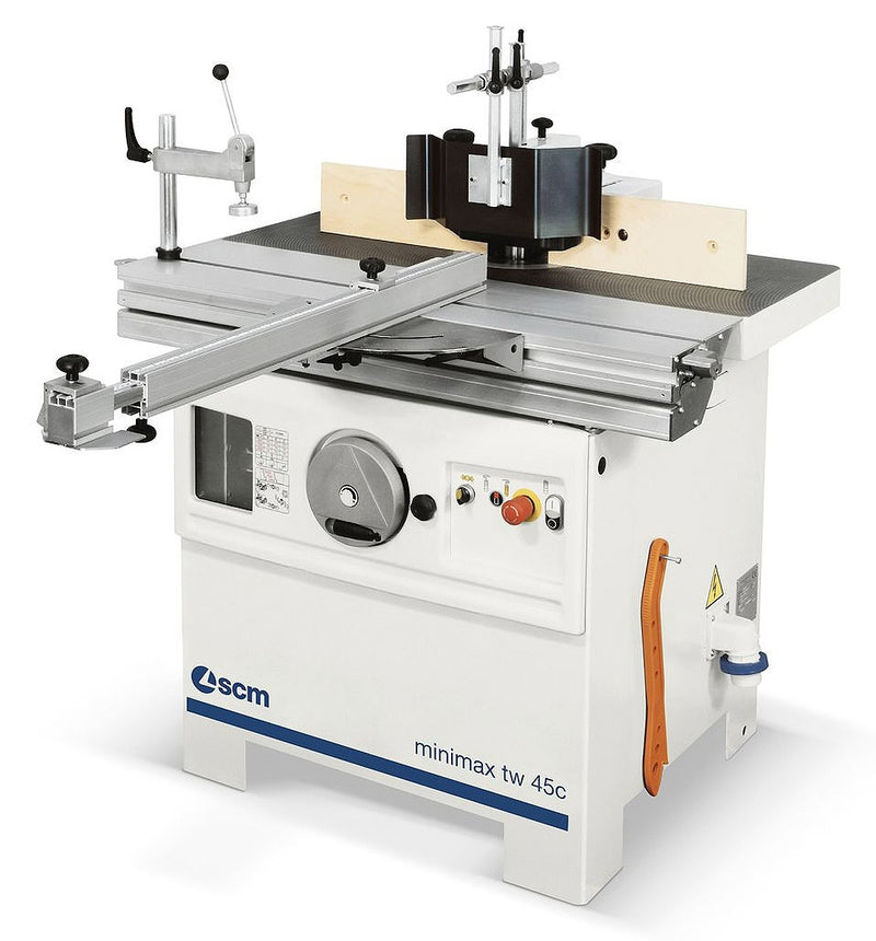 Minimax TW 45C - 4-Speed Spindle Shaper with Sliding Table