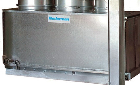 Nederman Dust Bin for S-Series Dust Collectors.
