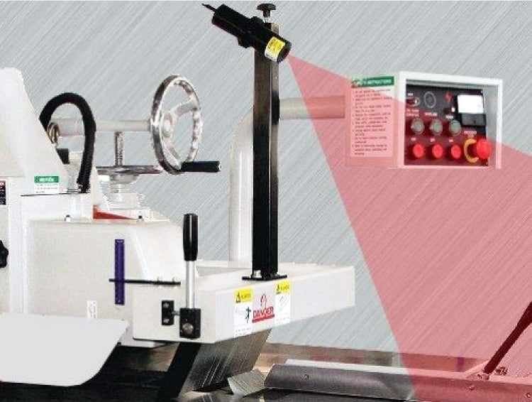 "Cantek 12"" Glue Line Ripsaw - Model: C12RSH - Optional Laser Guide Line"
