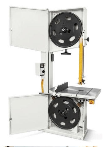 SCM Bandsaw - Model Formula S 440P - Thick Cast Iron Wheels