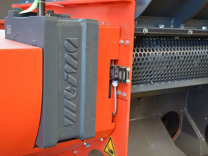 WEIMA WL 6 Wood Grinder and Shredder In House Gearbox Detail
