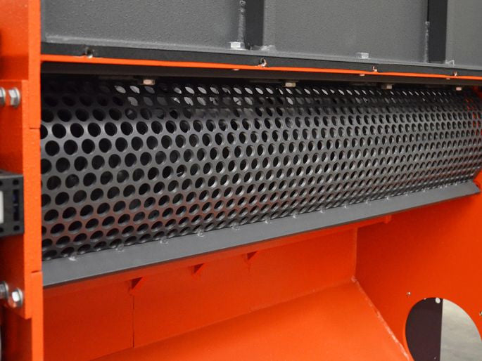 WEIMA WL 8 Shredder for Wood Waste Processing Screen Detail