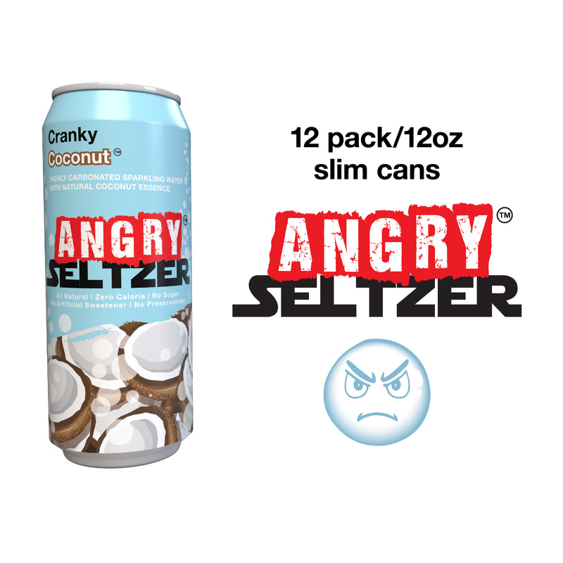 Cranky Coconut / 12oz slim cans / 12 pack
