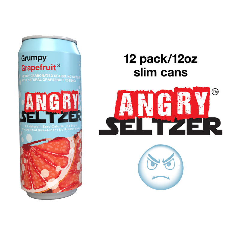 Grumpy Grapefruit / 12oz slim cans / 12 pack