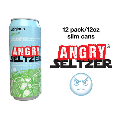 Litigious Lime / 12oz slim cans / 12 pack