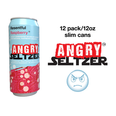 Resentful Raspberry / 12oz slim cans / 12 pack