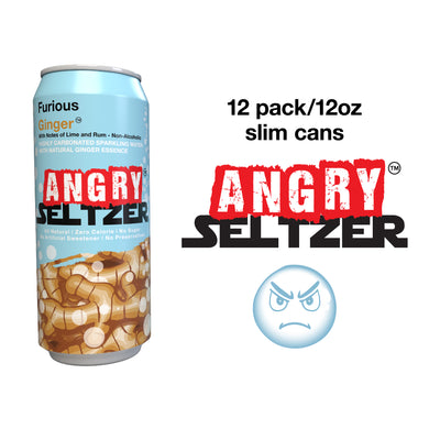 Furious Ginger / 12oz slim cans / 12 pack