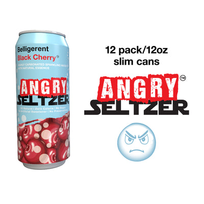 Belligerent Black Cherry / 12oz slim cans / 12 pack