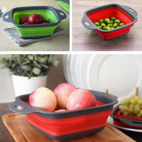 Kitchen Strainer/ Collapsible Colander/ Food Strainer