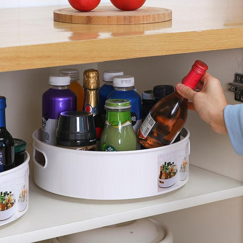 Non-Slip Lazy Susan Storage Holder