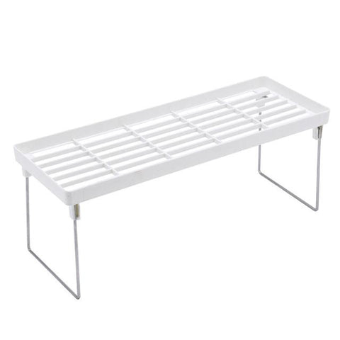 White - Kitchen Storage Organizers/ Kitchen Cabinet Shelf/ Storage Rack for Kitchen