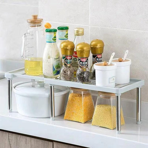 White - Spice Rack/ Condiment Holder