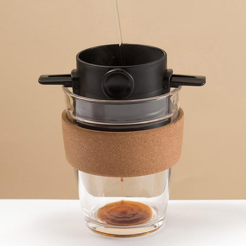 Black - Portable Coffee Dripper