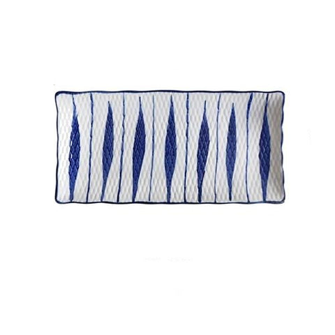Japanese Rectangle Ceramic Plate - Elite Kitchenwares